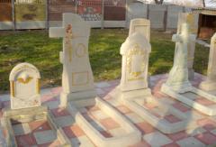 Пам'ятники бетонні ритуальні