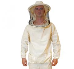 Куртка пчеловода с классической маской. Ткань бязь. 50/52, L