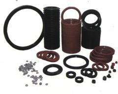 Plugs elastic rubber