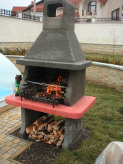 "Garden furnace of a barbecue ""Classics"