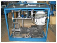Station charging carbon dioxide SZU-500, SZU-500D,