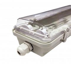 Светильник под LED лампу 2х600 мм IP65