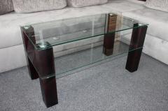 Журнальные столы из стекла