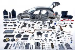 Second-hand auto parts from Germany