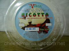 Organic cheeses, ricotta of 0,3 kg.