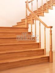 Ступени деревянные