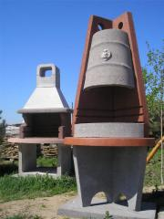 Furnaces, a barbecue, braziers to order with