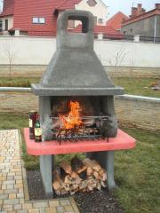 Nyaraló házikók grillezési berendezések