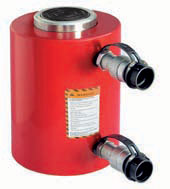 Double-acting hydraulic jack