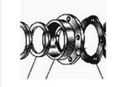 The suspension bracket carriage for a tractor to
