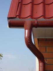 Water waste system galvanized