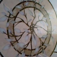 Мозаика из мрамора для стен, Донецк