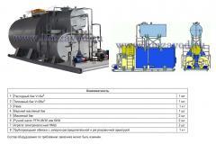Топливомасляная установка ТМУ-1-25