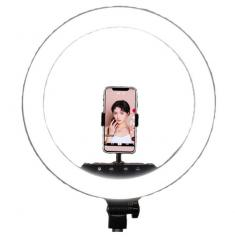 Кольцевая LED лампа 45 см с пультом PHS ZB-F348