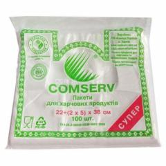 Пакет фасувальний майка 22х38 (100шт) Comserv
