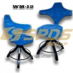Барные VIP кресло WM-12, стул поворотный мягкий