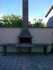 Самодельный барбекю в Одессе