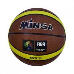 """Мяч баскетбольный """"Minsa"""" (коричневый) C34544"""