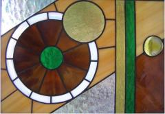 Stained-glass windows are exclusive