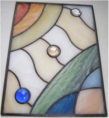 Stained-glass windows are classical