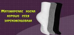 Житомирские носки оптом. Носки женские. Носки