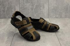 Подростковые сандали кожаные летние...