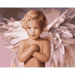 "Картина по номерам ""Ангел удачи"" ★★★★"