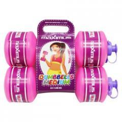 """Гантели-бутылочки """"Для девочки"""",  2 штуки..."""