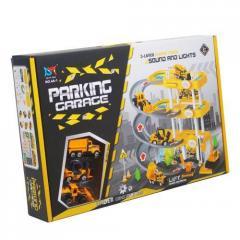 """Игровой набор """"Паркинг: Спецтехника"""" 4A-1"""