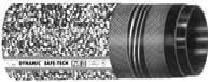 Промышленный напорно-всасывающий шланг DYNAMIC SAFE-TECH (Чёрный, с зеркальной поверхностью полимер PFA), гидравлический шланг для легковоспламеняющихся веществ