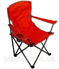 Кресло раскладное туристическое с подстаканни