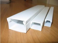 Products from polyvinylchloride. The cable channel