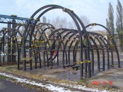 Arch frame krep