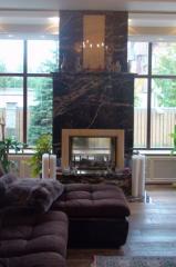 Камин для дома, из натурального камня