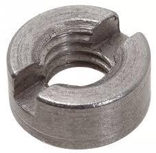 Nut round with a nasecheniye