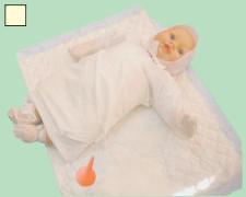Одноразовый набор одежды для новорожденного №1