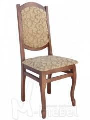 Chair from a beech the Rico model