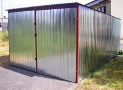 Оцинкованные гаражи