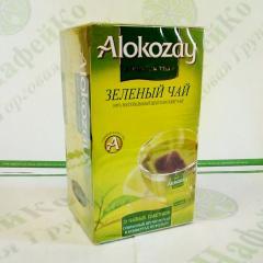 Чай Alokazay Зелёный пакетированный в конверте