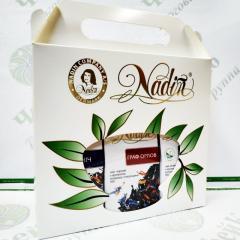 Чай Nadin Подарочная сумочка с чаем(50 г*3)