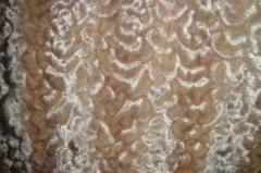 Fur fabric from the producer