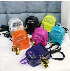 Модный силиконовый рюкзак