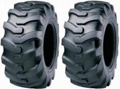 Los neumáticos de construcción. ¡La elección