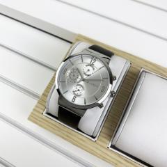 Guardo B01312-2 Dark Brown-Silver-White