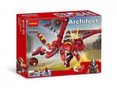 Конструктор DECOOL 3120 CREATOR - Красный...