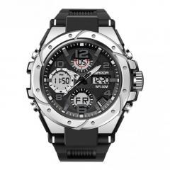 Sanda 6008 Black-Silver