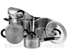 Набор посуды Vinzer Progresso 9 предметов (89021)