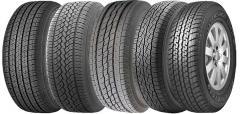 Los neumáticos de camino. ¡La elección enorme! Los