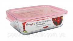 Пищевой контейнер стеклянный 1000мл Con Brio