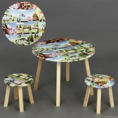 Столик + 2 стула круглый МИНИ